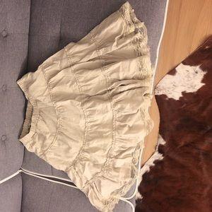 Zara Skirts - Cream skirt size 4 Japanese style